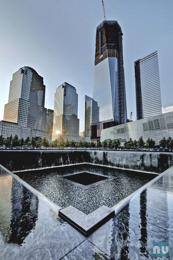 Ground Zero. WTC complex, NYC Honoring The Victims following the collapse of #WorldTradeCenter Twin Towers (Two of the 4 Targets of #911) Remembering and Honoring the Heroes of 9-11-2001