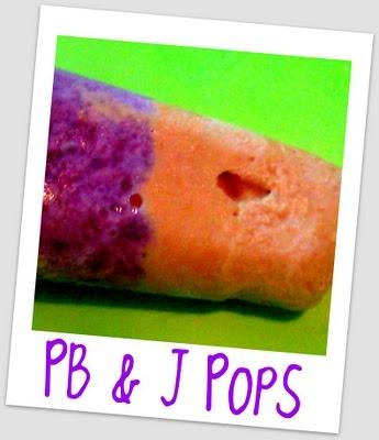 PB & J Pops {Yumm} | Healthy Snacks for Kids | Pinterest