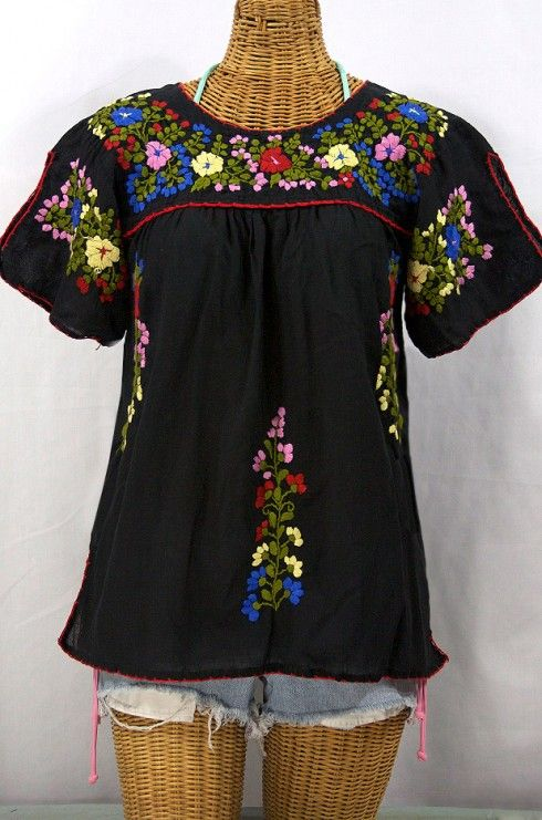 111 best Embroidered Peasant Tops & Mexican Peasant Blouses images ...