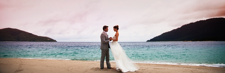 Beach wedding, Beach villas, Hayman, Queensland, Australia