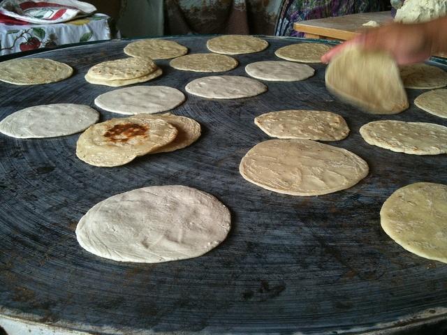 Tortillas, comida Guatemalteca