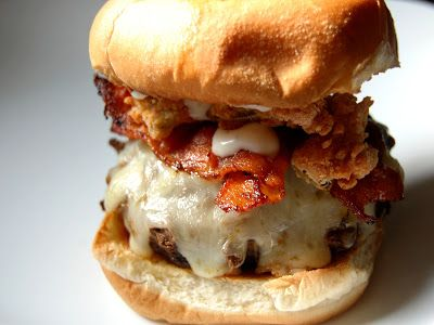 Cassie Craves: Burger and Fries Friday: Crunchy Jalapeno Bacon Ranch Cheeseburgers