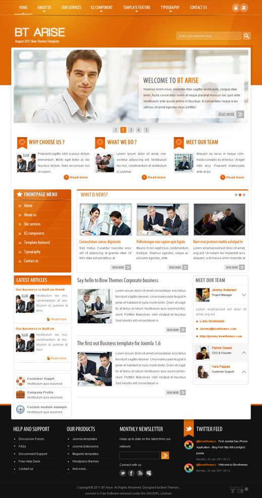 Peexa brings free Professional Website themes, templates, plugins ...