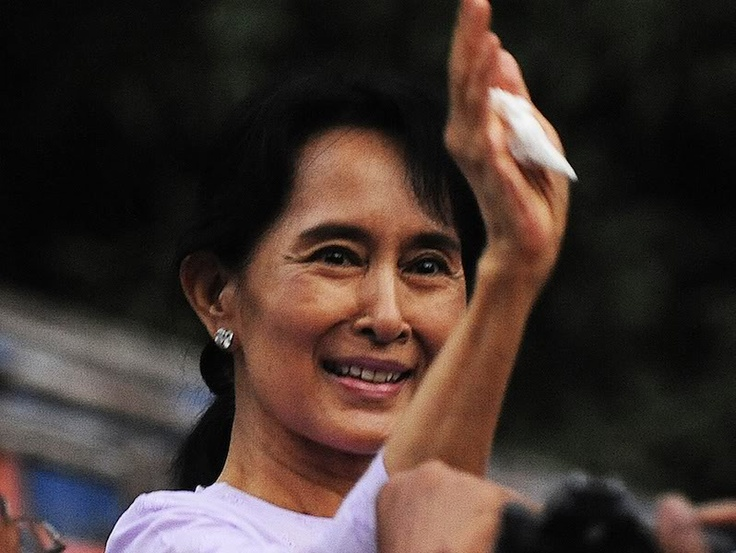 Aung San Suu Kyi...a remarkable lady