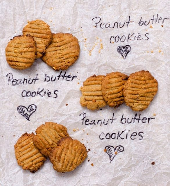 I'm in <3 with peanut butter cookies
