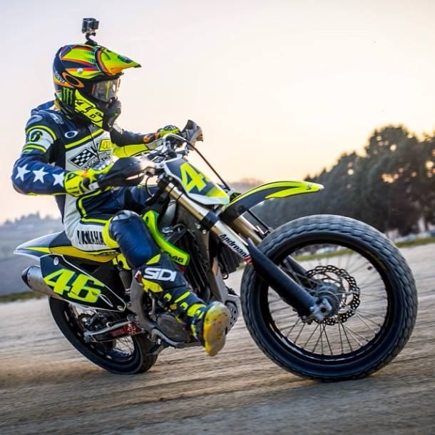 Image result for valentino rossi dirtbike