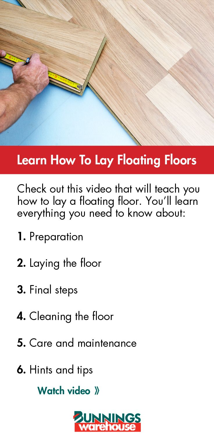 A #floating #floor is easy to install, hard wearing and it gives your house a rich, decorative hardwood looking #flooring.