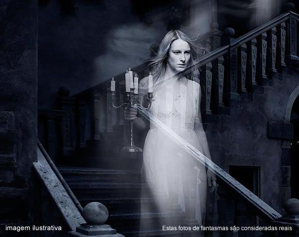 Estas fotos de fantasmas são consideradas reais