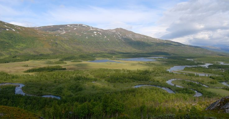 Vadvetjåkka nationalpark - Sweden