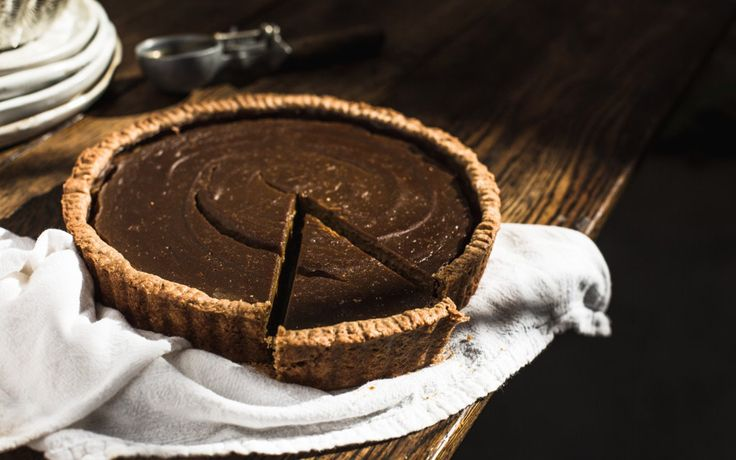A rich, hearty, new take on the classic pumpkin pie.