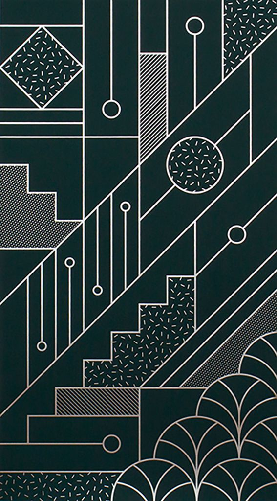 Staircase by Kristina Krogh | Poster from theposterclub.com