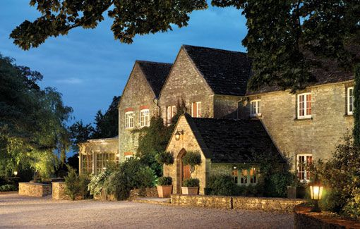 Calcot Manor & Spa -Tetbury, Gloucestershire. Gloucestershire (a county in South West England/part of the Cotswold Hills)