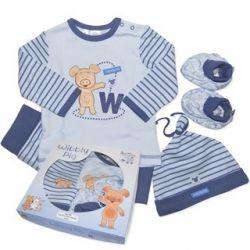 Wibbly Pig 4 Piece Gift Set - Boys