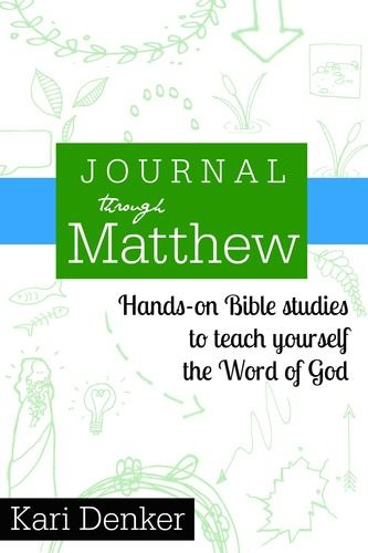 Journal through Matthew printable Bible study. Doodles, lists, hands-on fun for grown ups! #sketchnotes #doodle #biblestudy
