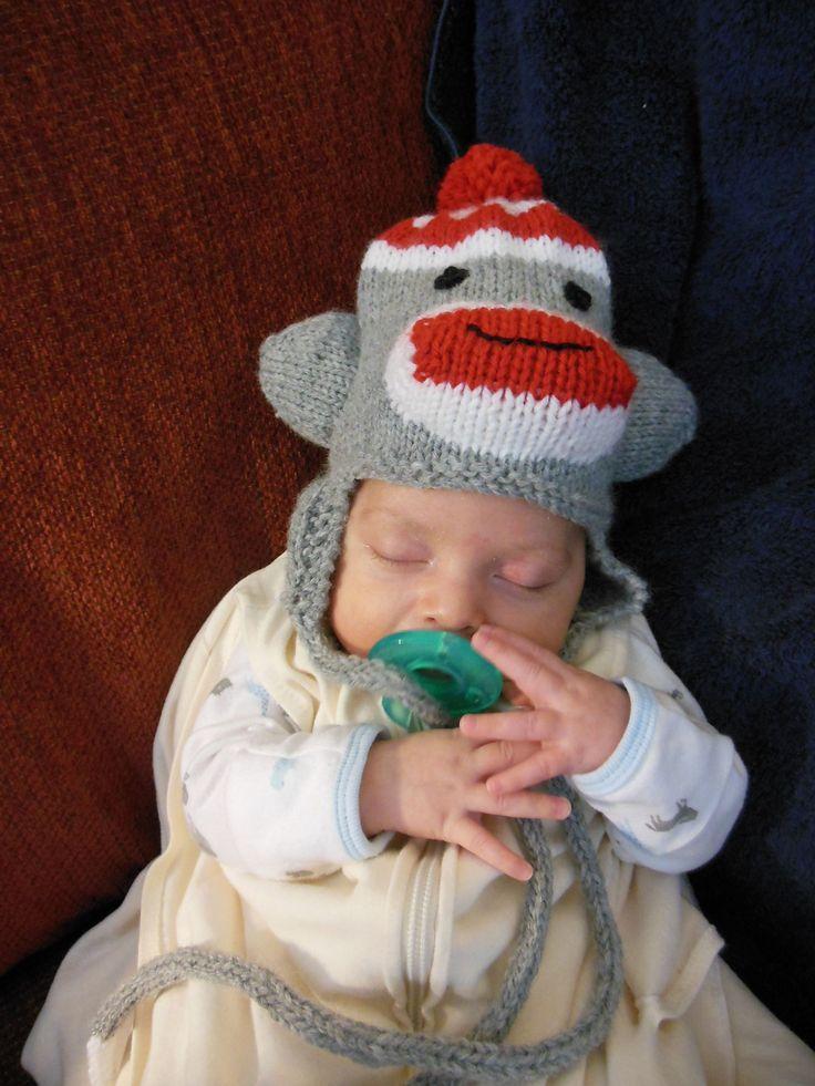 Ravelry: Silly Sock Monkey Hat by Janet Alger