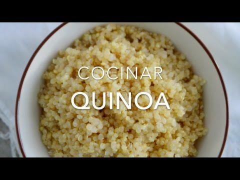 ¿Cómo cocinar la quinoa / quinua? Receta sencilla, probada y muy fácil.