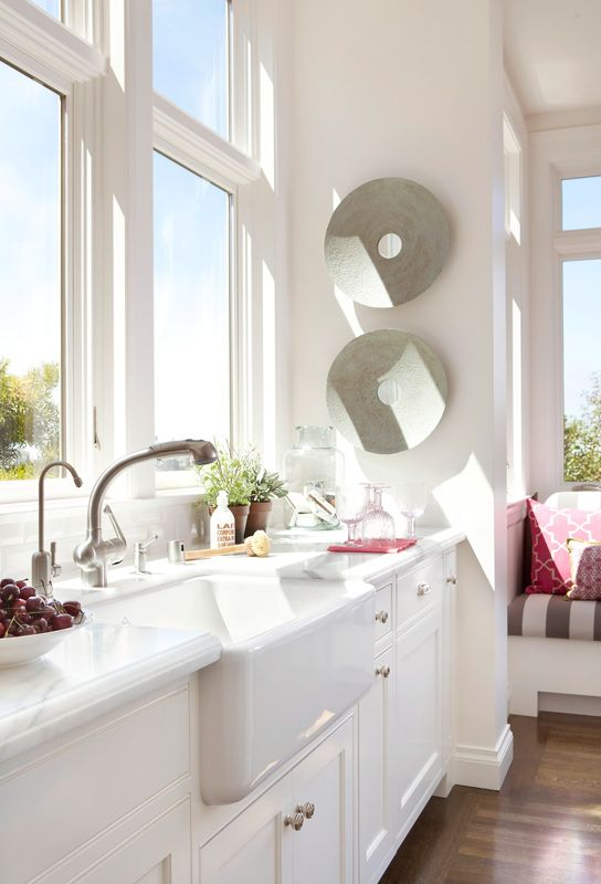 Best 25 Kitchens Without Upper Cabinets Ideas On Pinterest Dish Sets Cottage Kitchens With