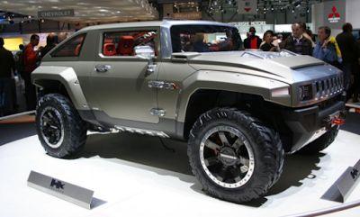2018 Hummer H4 Design