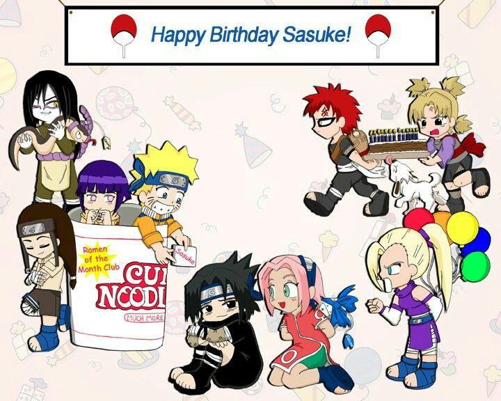 Sasukes Birthday