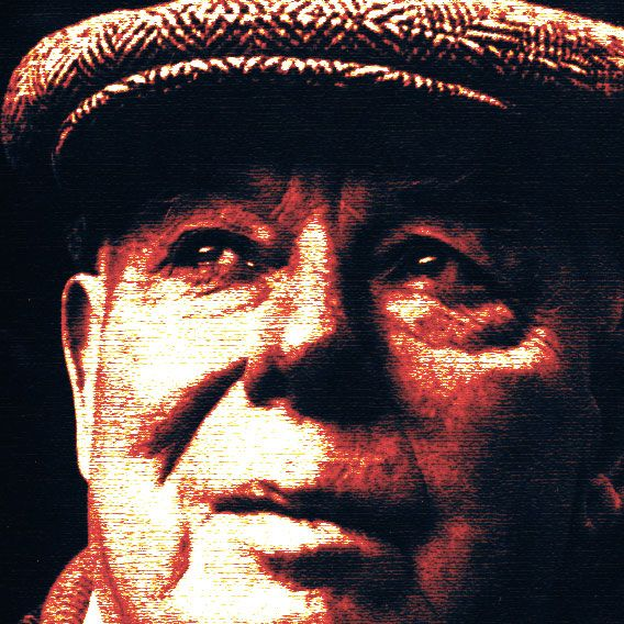Jean Renoir, September 15, 1894 to February 12, 1979.  French film director, screenwriter, actor.  His father was the artist Pierre-Auguste Renoir.  Some of his more famous movies were    1934 : Madame Bovary, 1934, Grand Illusion, 1937, The Human Beast, 1938, The Rules of the Game, 1939, The Diary of a Chambermaid, 1945, The Woman on the Beach, 1947, The Golden Coach, 1953, French Cancan, 1955, Elena and Her Men, 1956, Picnic on the Grass, 1959, The Elusive Corporal, 1962.