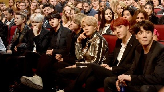 All anyone cared about at the AMAs was South Korean boy band BTS