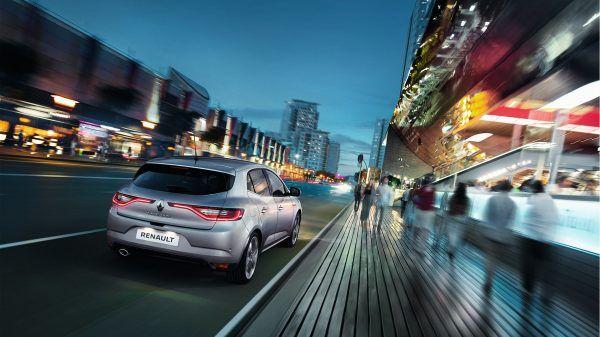 Nueva berlina de negocios Renault Megane