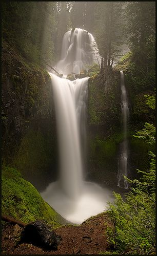 Falls Creek Falls, Washington State