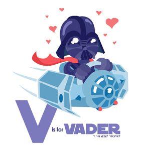 Star Wars Letter Art