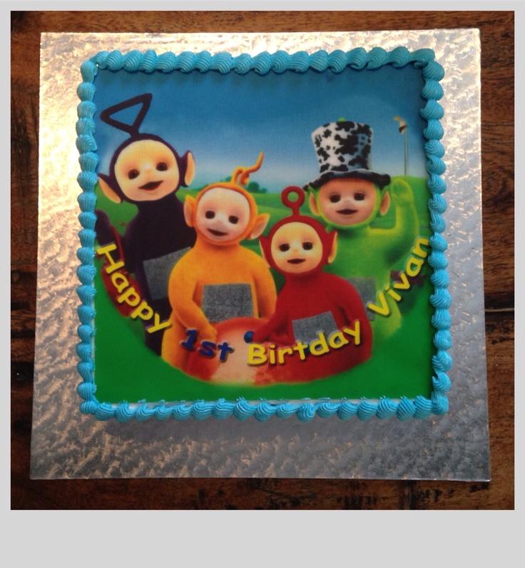 Birthday Cake With Edible Photo