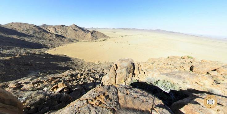 Stunning 360° Virtual Tour displaying Klein-Aus Vista - Eagle's Nest Chalets in Namibia