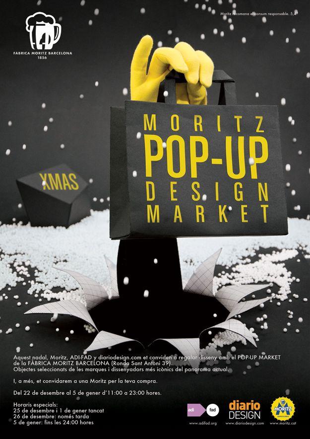 moritz designmarket Una Pop Up Store en la fábrica de Moritz