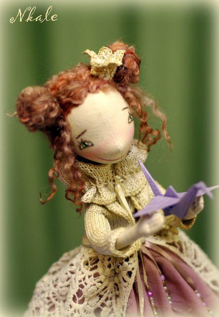 NKALE :-) В каждой игрушке сердце: авторская текстильная кукла