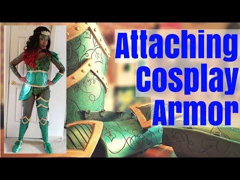 Making Craft Foam Armor Part 1 - YouTube