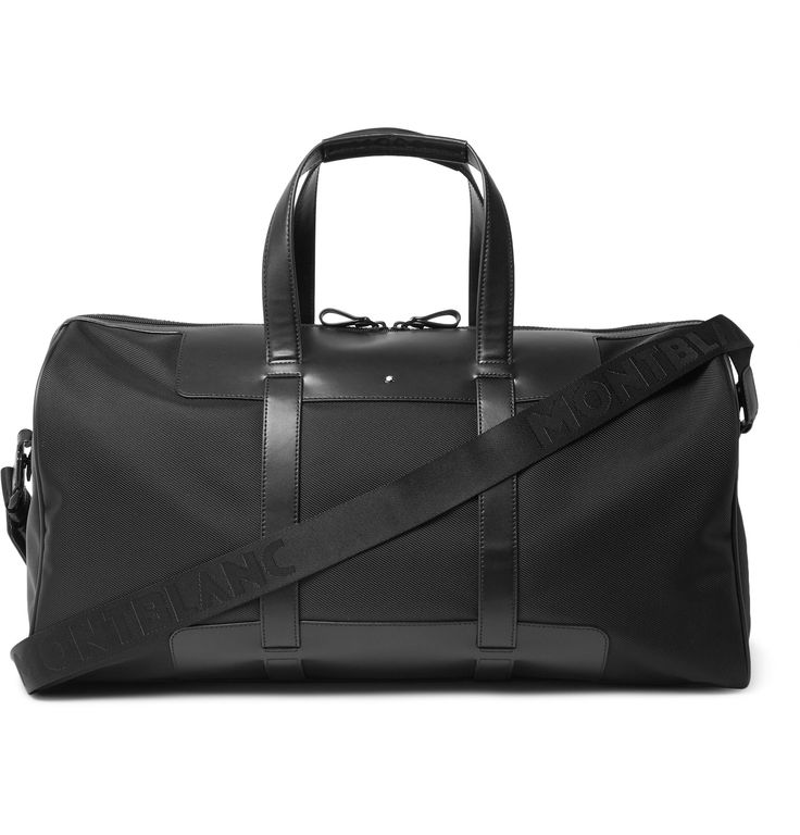 <a href='http://www.mrporter.com/mens/Designers/Montblanc'>Montblanc</a> describes its 'Nightflight 55' bag as 'voyage proof', as it is highly stain, water and scratch resistant to ensure an immaculate appearance even after long-haul journeys. This convenient carry-on is spacious enough for your travel essentials, but not so large to be overly heavy or impractical.