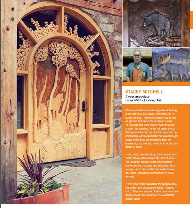 Stacey Mitchell carved doors 801-602-7781