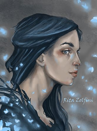 """Morgana"" -digital painting-"