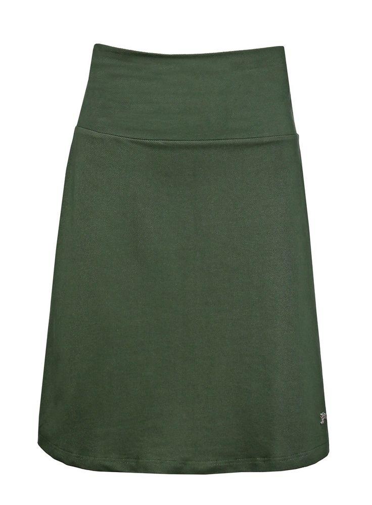 Tante Betsy Skirt Denim Green groen spijkerstof jeans aline alijn