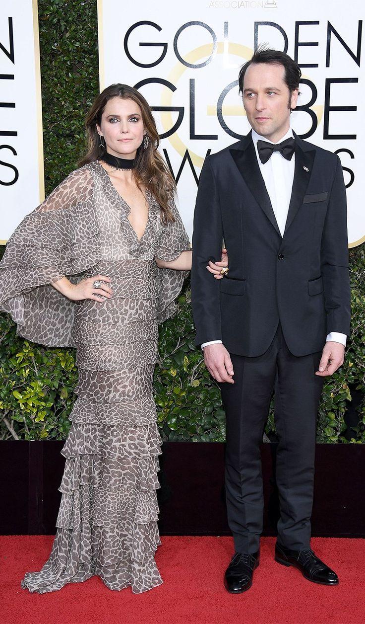 Кери Рассел, Мэттью Риз на церемонии вручения наград премии «Золотой глобус» в Лос-Анджелесе, 08 января 2017 г.