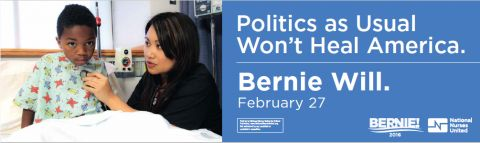 Nurses union vows to continue backing Bernie Sanders through its super PAC, despite his anti-super PAC stance