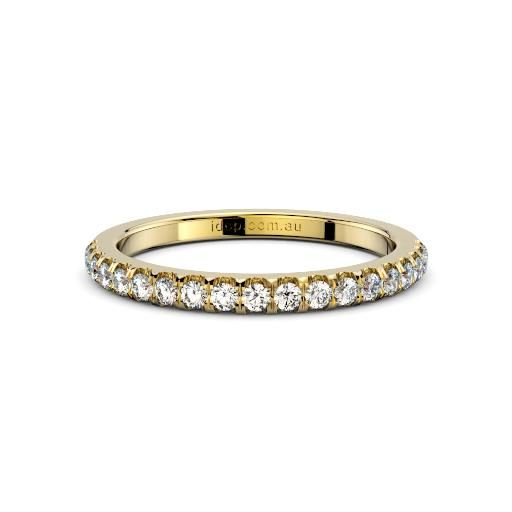 Women's Chelsea Pave Diamond Yellow Gold Ring – 1/4ct diamonds