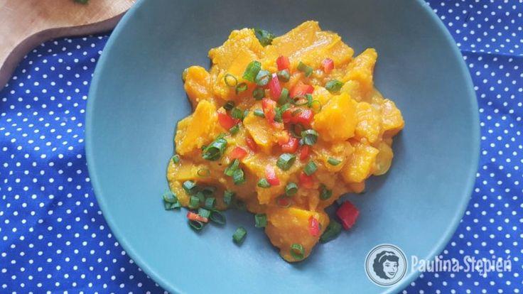 Warzywne curry z dynią i kalafiorem