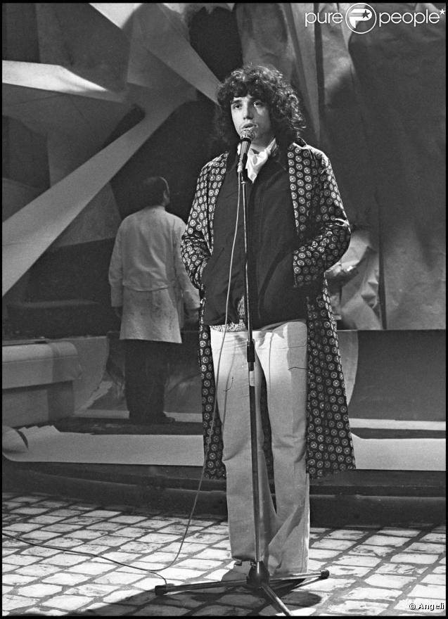 Julien Clerc. début des années 70