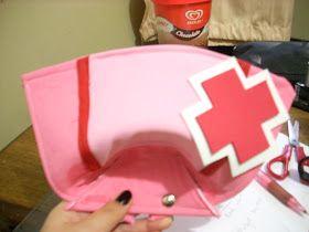 KanonCosplay: Tutorial de cofia de enfermera (Miku Nurse)