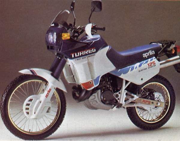 tuareg 125 1987 aprilia pinterest small motorcycles. Black Bedroom Furniture Sets. Home Design Ideas