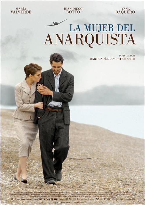 La mujer del anarquista (2008) España. Dir: Marie Noëlle e Peter Sehr. Drama. Romance. Guerra civil española - DVD CINE 1413