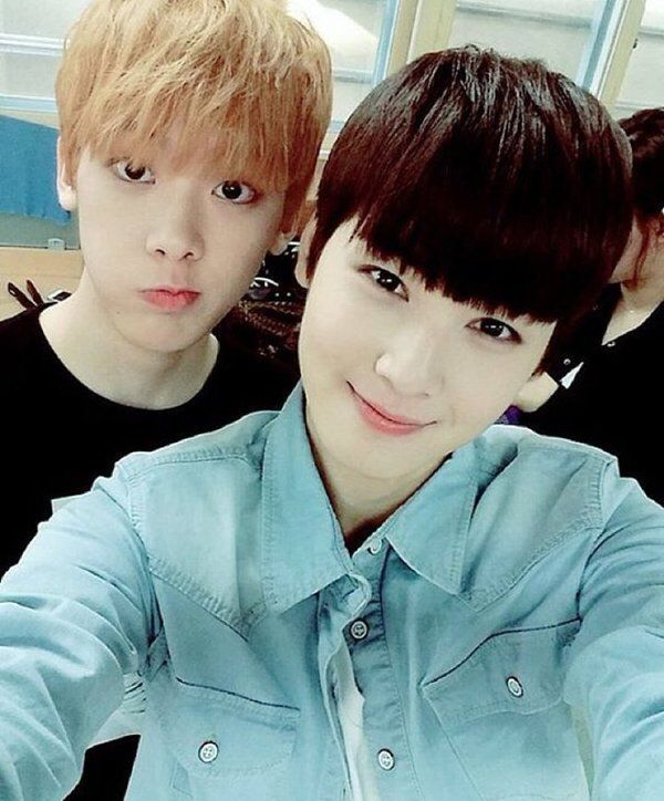 sanha and eunwoo #Astro