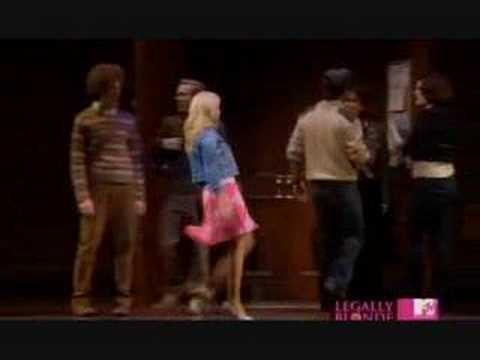 """""""So Much Better"""" from Legally Blonde: The Musical. Laura Bell Bundy as Elle."""