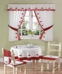 Resultado de imagen para cortinas de cocina navideñas