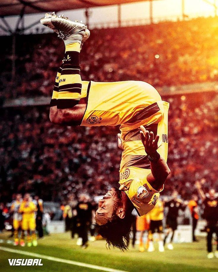 DFB Pokal winners @bvb09 🏆 @aubameyang97
