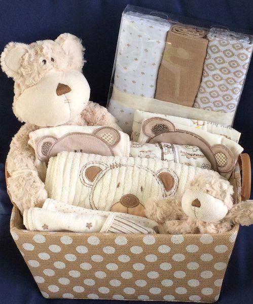 Baby Gift Baskets Vancouver Canada : Peek a boo bear basket baby bears